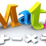 Visual of math and symbols